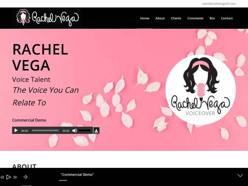 Rachel Vega Voice Over Artist