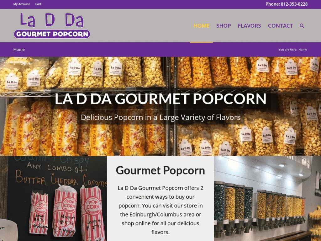 La D Da Gourmet Popcorn