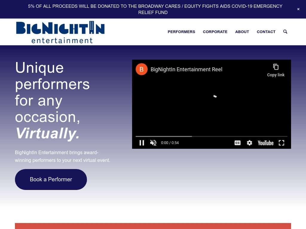 BigNightIn Entertainment